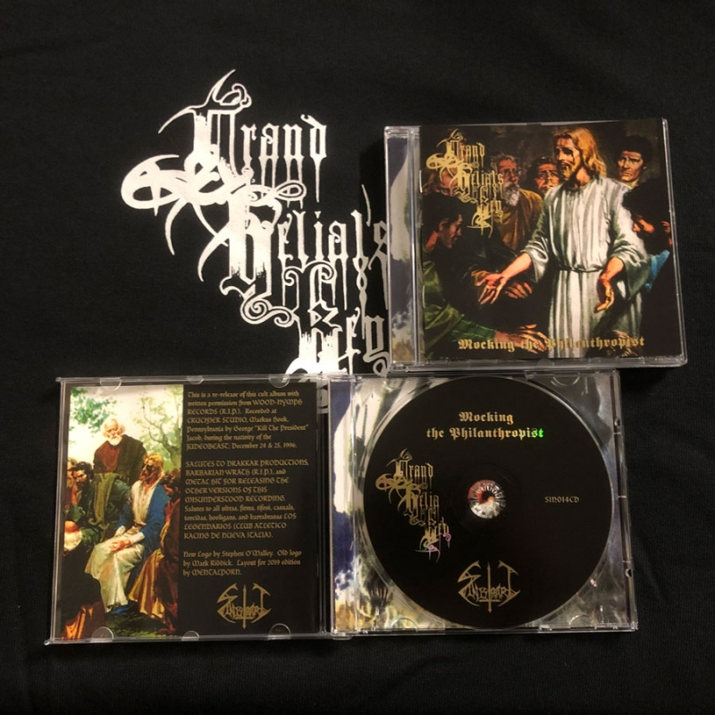 Grand Belials Key - Mocking the Philanthropist - CD