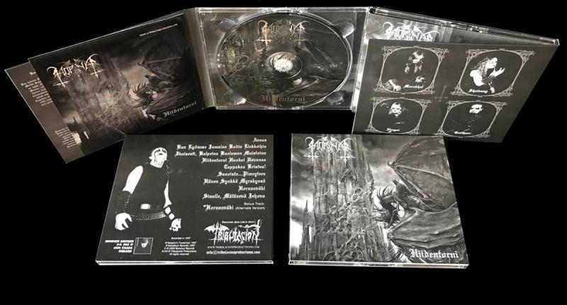 Horna - Hiidentorni - Digipak CD