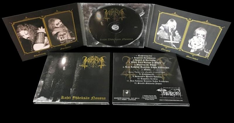 Horna - Kohti Yhdeksän Nousua - Digipak CD