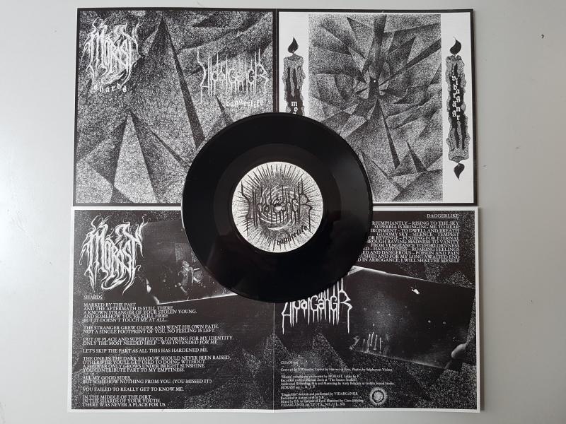 Morast / Vidargängr - Shards / Daggerlike - 7 EP