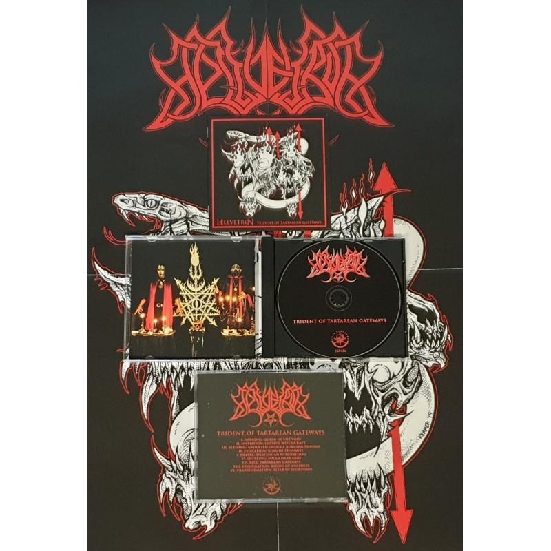 Hellvetron - Trident of Tartarean Gateways - CD