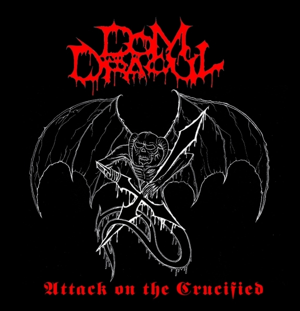 Dom Dracul - Attack On The Crucified - LP
