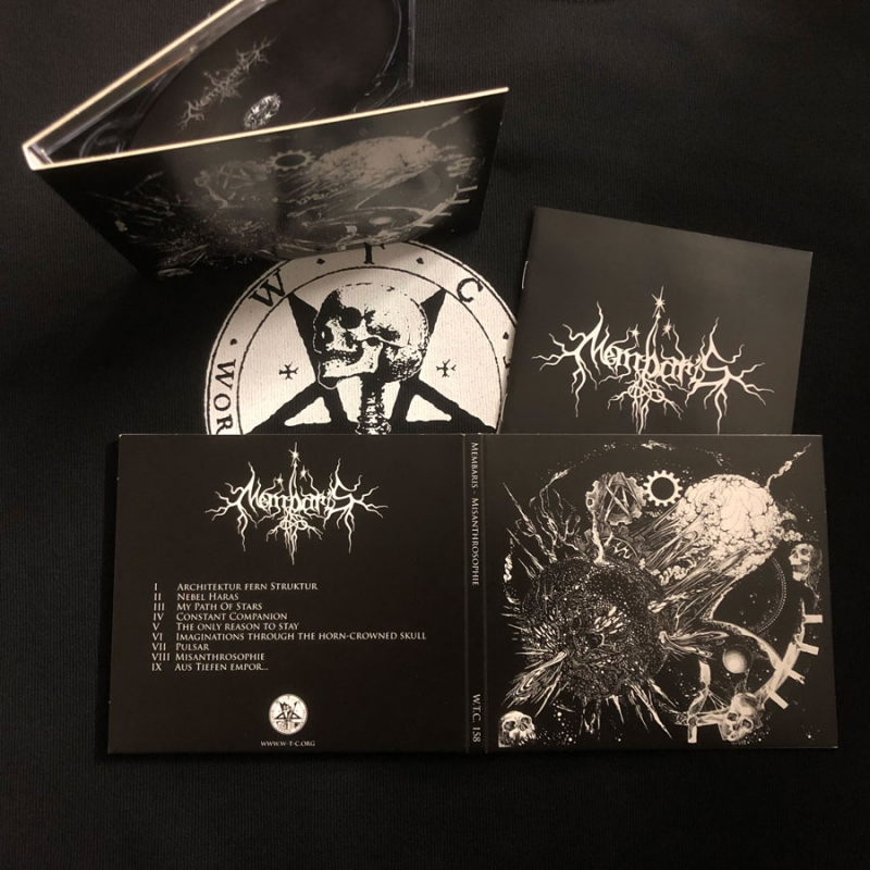 Membaris - Misanthrosophie - Digipak CD