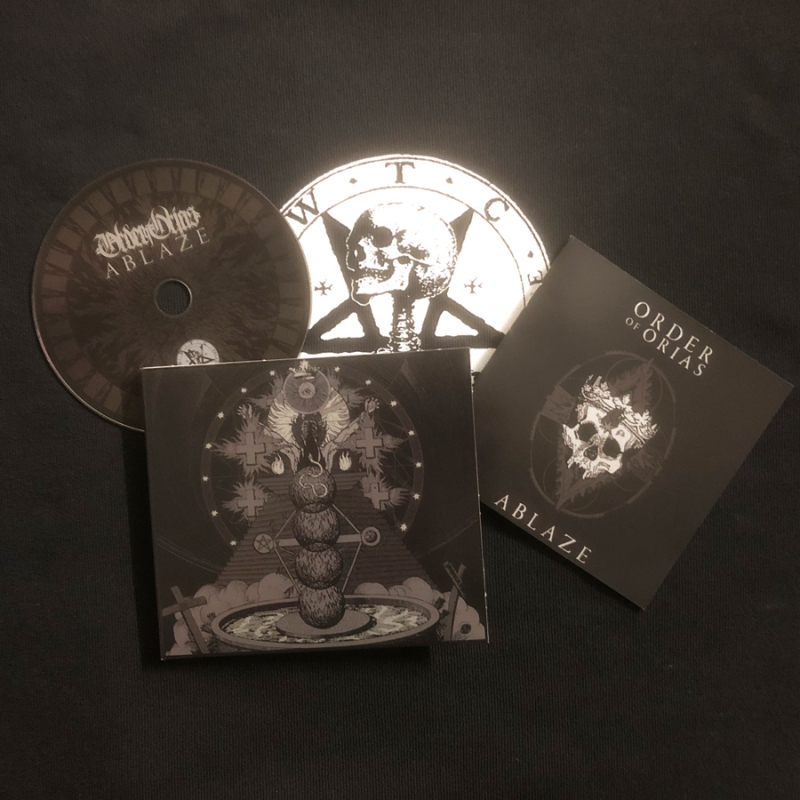 Order of Orias - Ablaze - Digipak CD
