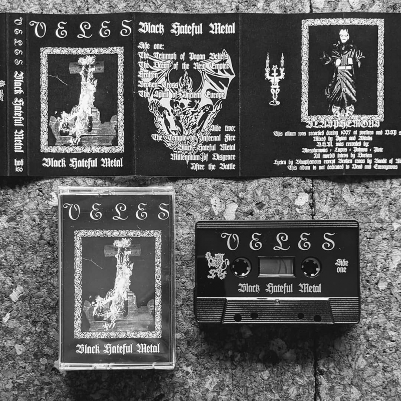 Veles - Black Hateful Metal - Tape