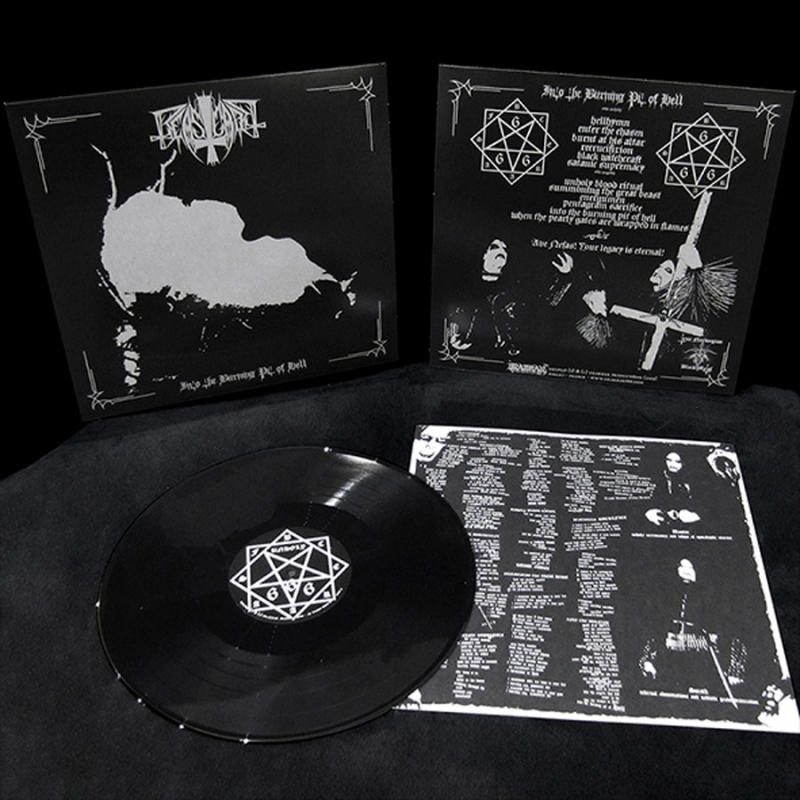 Beastcraft - Into the burning pit of hell - LP