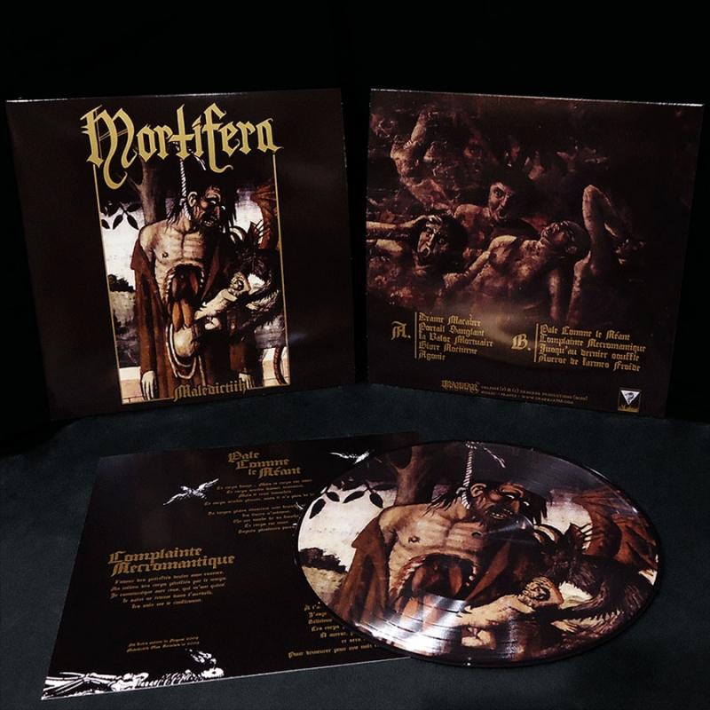 Mortifera - Maledictiih - Picture LP (incl. LP Sleeve)