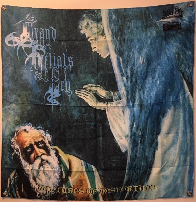 Grand Belials Key - Vultures Of Misfortune - Banner