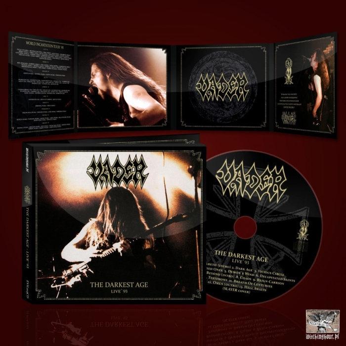 Vader – The Darkest Age - Live 93 - Digipak CD