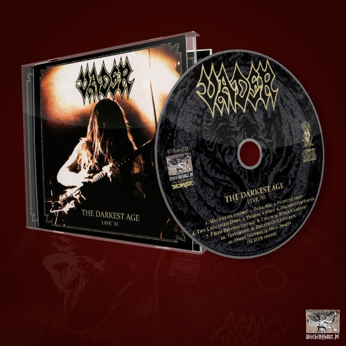 Vader - The Darkest Age - Live 93 - CD