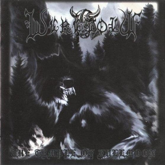 Werewolf - The Temple of Fullmoon - CD