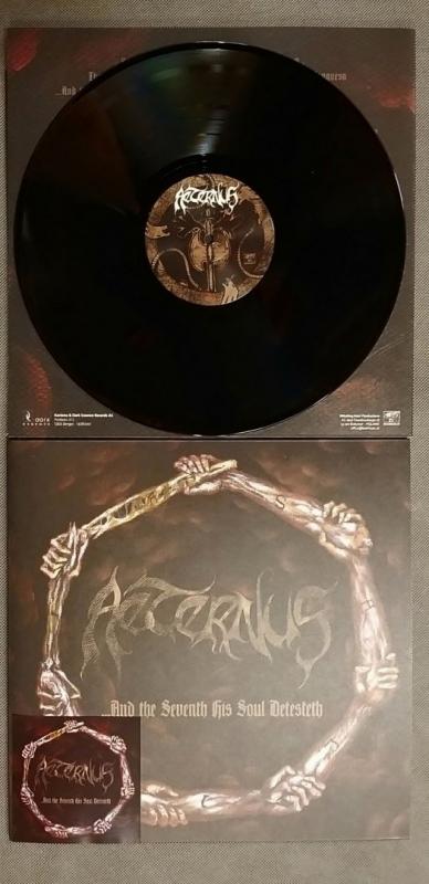 Aeternus - and the Seventh His Soul Detesteth - Gatefold LP