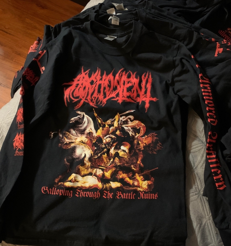 Arghoslent - Galloping through the Battleruins - Longsleeve