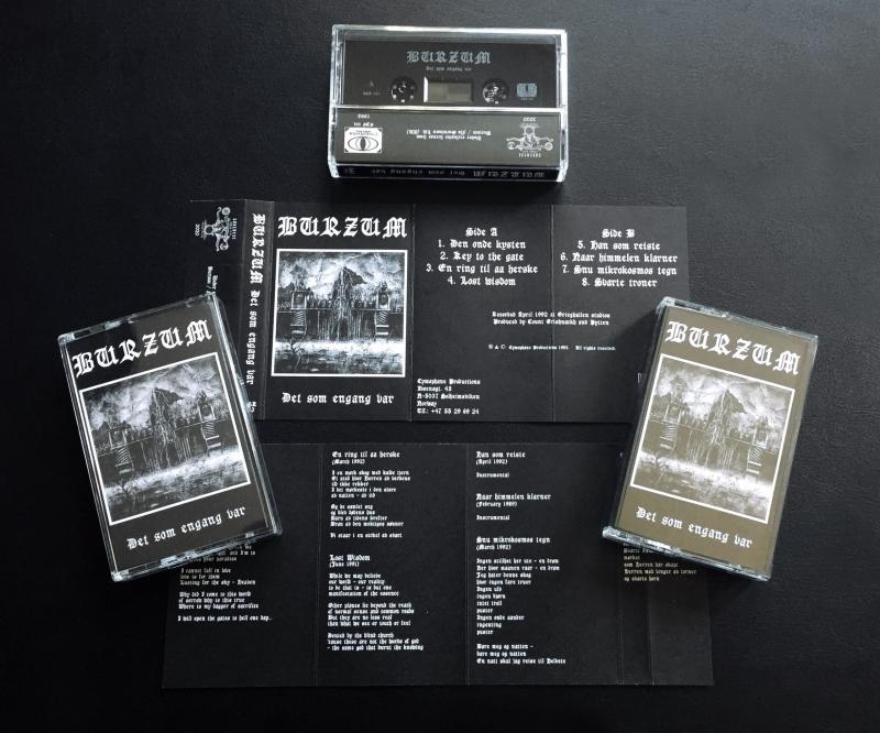 Burzum – Det Som Engang Var - MC