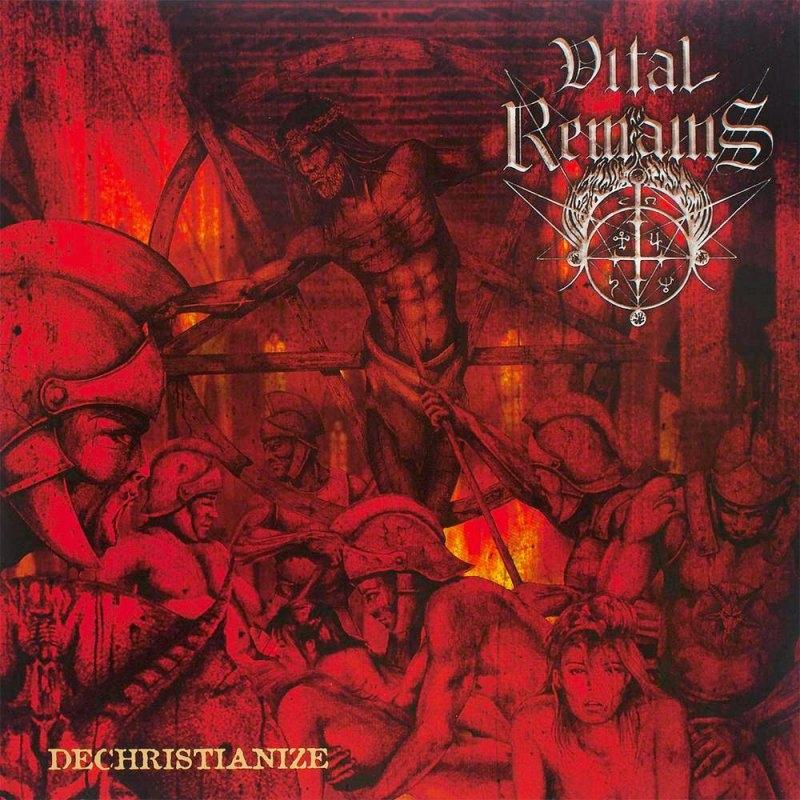 Vital Remains - Dechristianize - CD