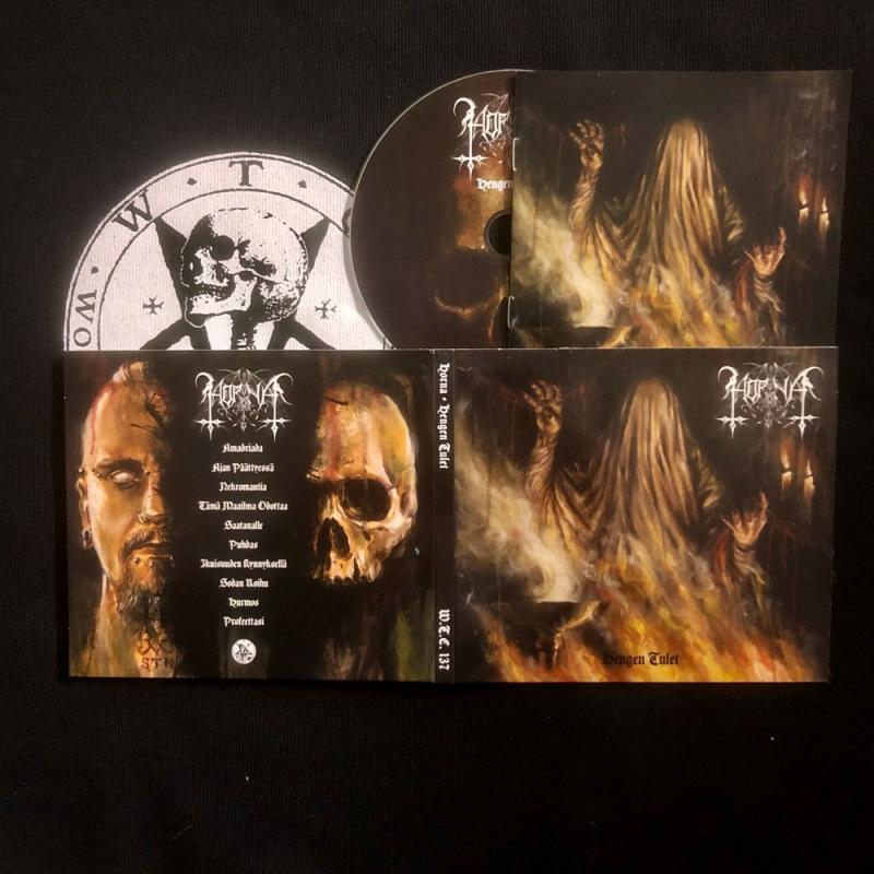 Horna - Hengen Tulet - Digipak CD