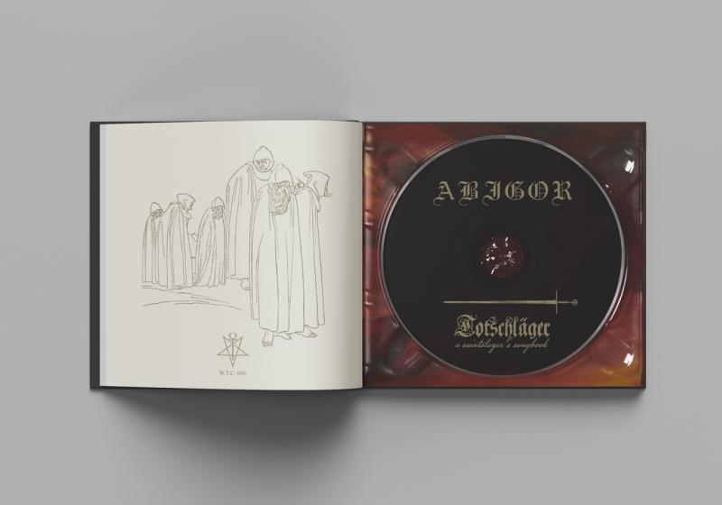 Abigor - Totschläger (A Saintslayers Songbook) - Hardcover Mediabook CD - PRE-SALE