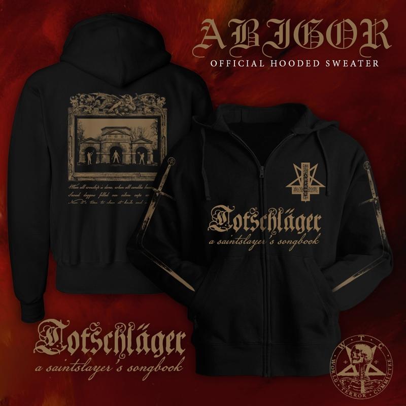 Abigor - Totschläger (A Saintslayers Songbook) - Hooded Zipper - PRE-SALE