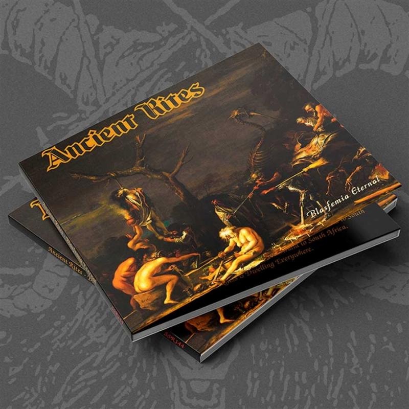 Ancient Rites - Blasfemia Eternal - Digipak CD