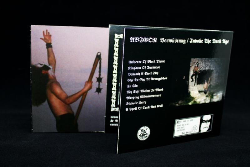 Abigor - Verwüstung / Invoke the Dark Age - Digipak CD - PRE-ORDER