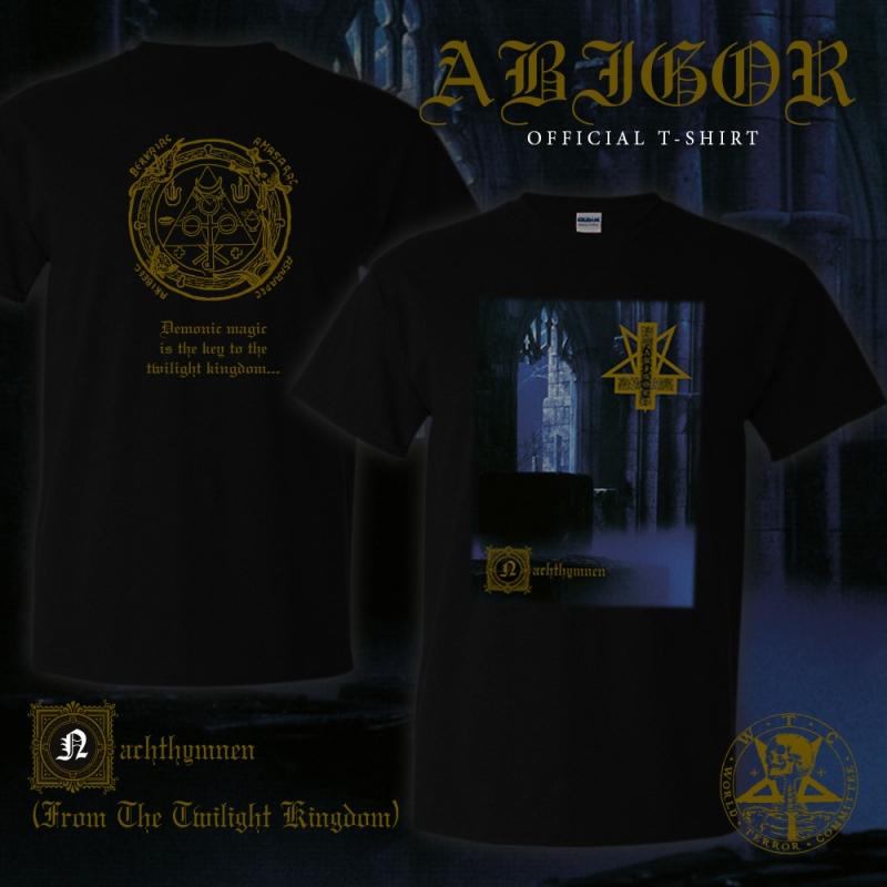 Abigor - Nachthymnen - T-Shirt - PRE-ORDER