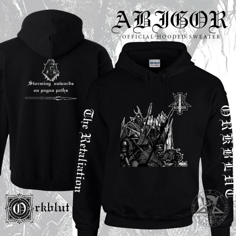 Abigor - Orkblut - Hooded Sweatshirt (BLACK) - PRE-ORDER