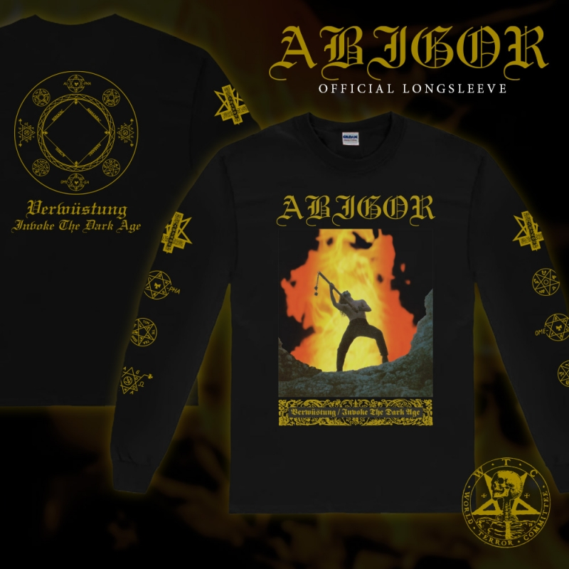 Abigor - Verwüstung / Invoke the Dark Age - TS Longsleeve - PRE-ORDER
