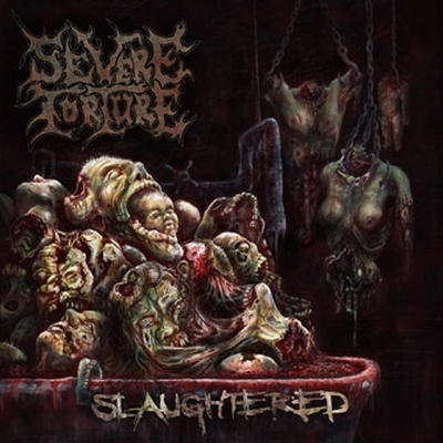 Severe Torture - Slaughtered - DigiCD