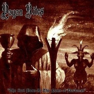 Pagan Rites / Evil Wrath - Split 10MLP