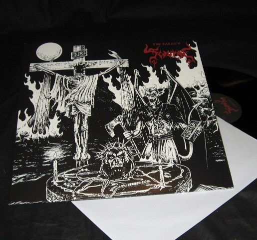 The Satans Scourge - S/T - LP