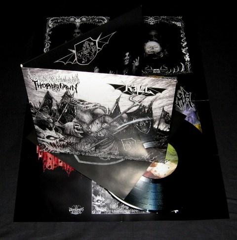 Thornspawn / Kill - United in Hells Fire - Split-10MLP
