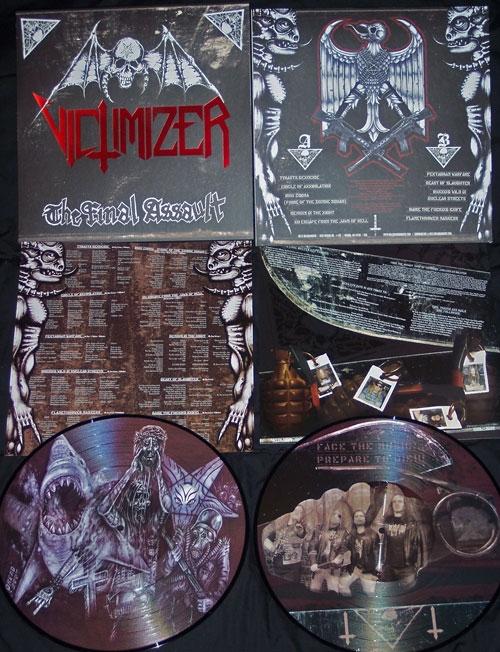 Victimizer - The Final Assault - Pic LP (& LP Sleeve)