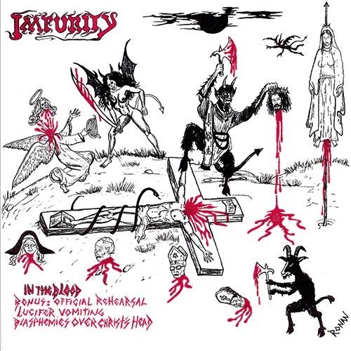 Impurity / Black Feast - Weltering Shadows.... - Split-CD