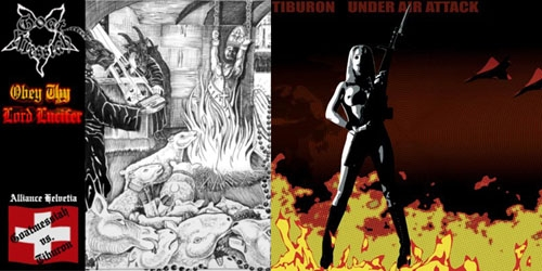 Goat Messiah / Tiburon - Obey Thy Lord Lucifer - Split EP