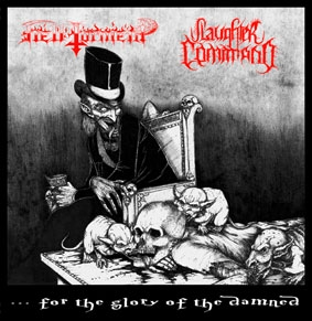 Hell Torment / Slaughter Command - Split EP