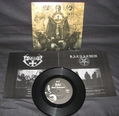 Karnarium / Defiler - Split EP