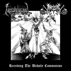 Necroholocaust / Manticore - Split EP