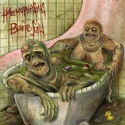 Bonesaw / Haemophagus - Split-CD
