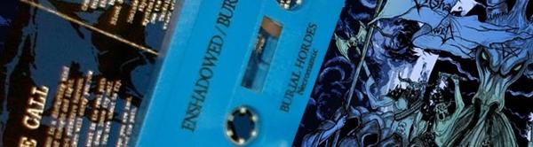Enshadowed / Burial Hordes - Split-MC
