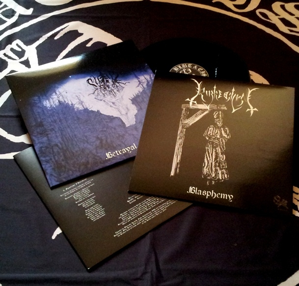 Svikt / Kirkebrann - Betrayal And Blasphemy - Split-LP