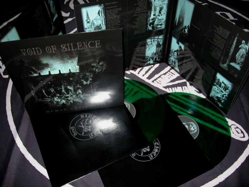 Void of Silence - Human Antithesis - DLP