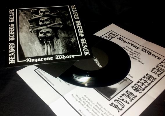 Nazarene Whore - Heaven Bleeds Black - EP
