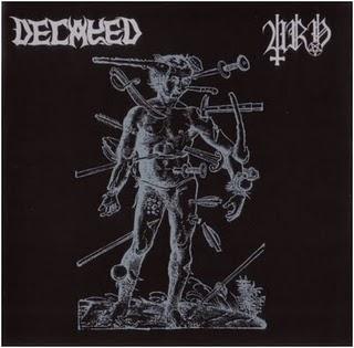 Decayed / Urn - The Nameless Wraith / Morbid Death - SplitCD