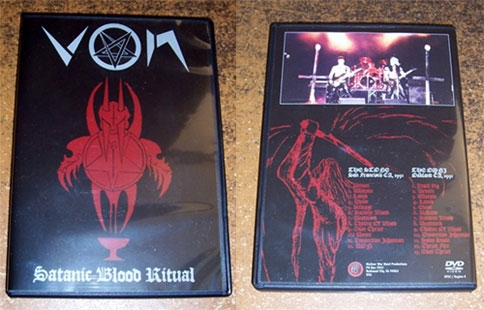 Von - Satanic Blood Ritual - DVD