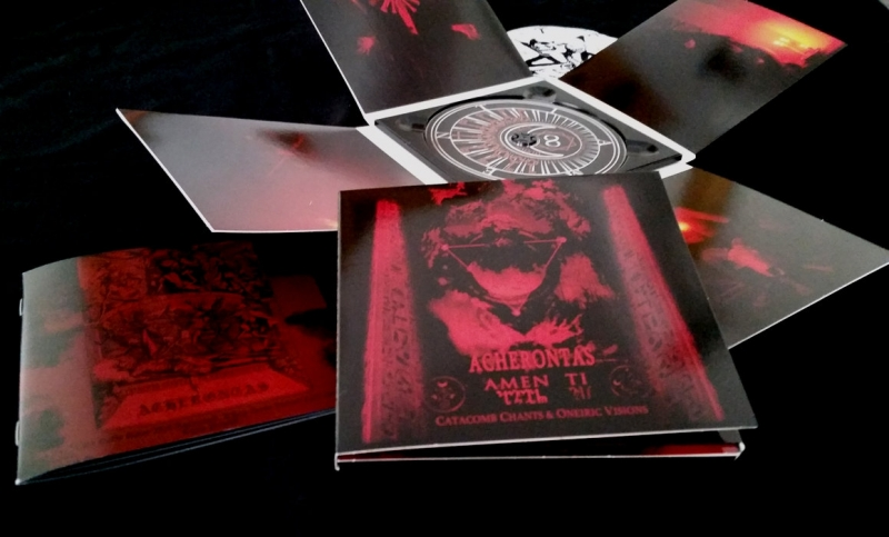 Acherontas - Amenti - Digipak CD