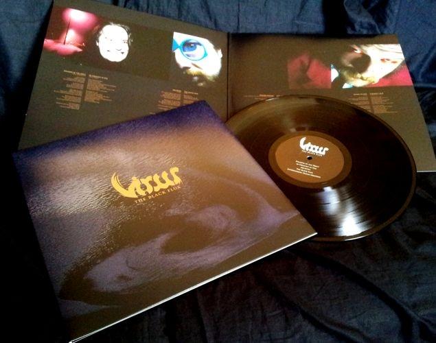Virus - The Black Flux - LP