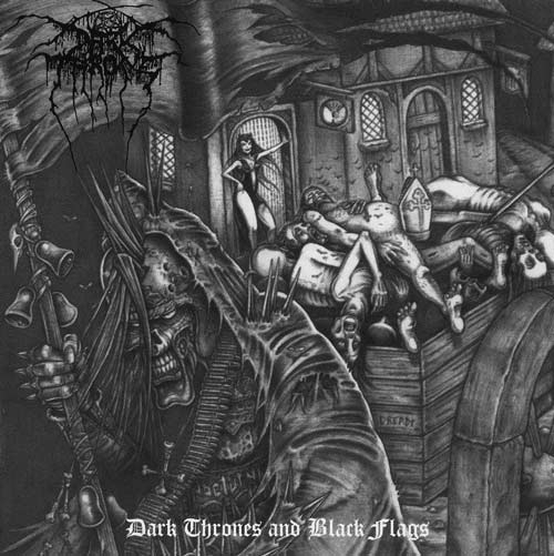 Darkthrone - Dark Thrones and Black Flags - CD (special edition)