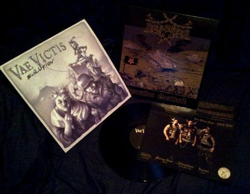 Zerstörer / Vae Victis - Operation Goattank/Evilution - Split-LP
