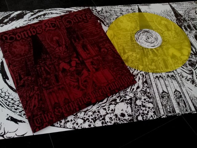 Bombs of Hades - The Serpents Redemption - LP