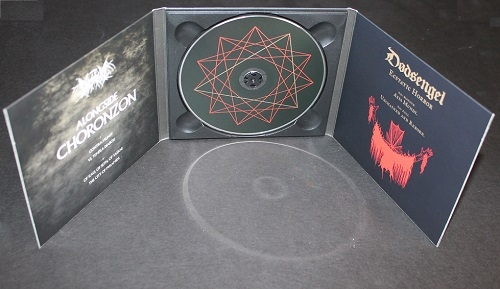 Dodsengel - Ecstatic Horror / Alongside Choronzon - DigiCD